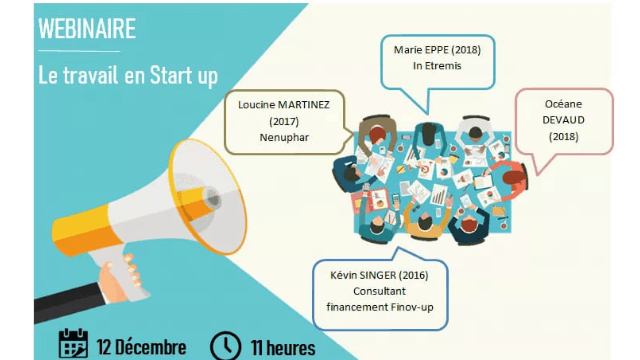 Webinaire : Le travail en start-up